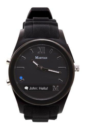 Martian Watches Notifier Smartwatch -Retail Packaging -Black