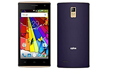 Spice Xlife M44Q 4.5 inch Dual Sim Blue Android Mobile Phone