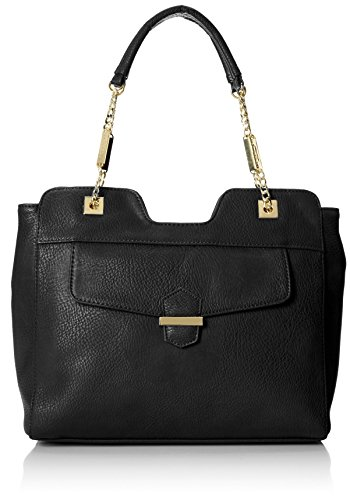 olivia + joy Ginger Satchel,Black,One Size