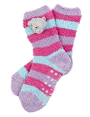 Tatty Teddy Cosy Slipper Socks