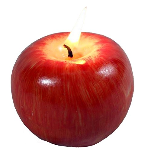 Apple-shaped Fragrant Candle, Creative Romantic Wedding Birthday Christmas Favors Gift