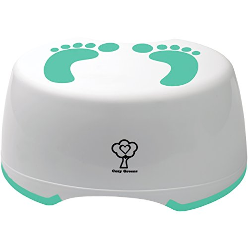 Cozy Greens Toilet Training Child Step Stool with Potty Training eBook