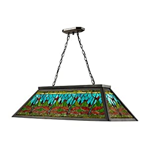 Dale Tiffany Th12406 Glade Pool Table Hanging Fixture