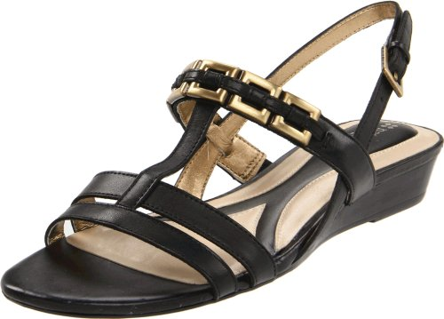 Naturalizer Women's Jailene Slingback Sandal,Black,7.5 N US