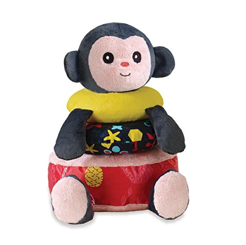 Manhattan Toy Savanna Monkey Tactile Activity Stacker
