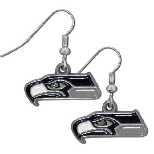 NFL Seattle Seahawks Dangle Earrings at Amazon.com