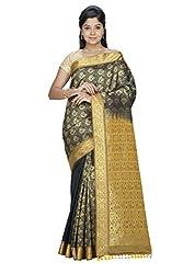 Srinidhi Silks Orange Silk Sari (Ssi sarr 2242)