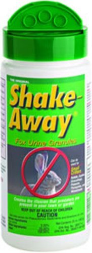 Shake Away 8004520 20 ounces Small Critter Repellent Fox Urine Granules