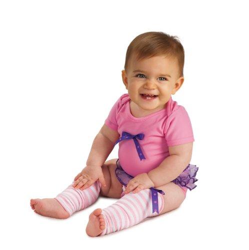 Rubie's Costume Newborn Ballerina Bodysuit, Pink/Purple/White, 6-9 Months Costume