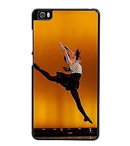 Fuson Premium 2D Back Case Cover Dancing girl With White Background Degined For Xiaomi Redmi Mi5::Xiaomi Mi 5