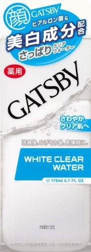 GATSBY (ギャツビー) 薬用ホワイトクリアウォーター 170mL (医薬部外品)