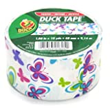 Duck Brand Butterfly Printed Duct Tape, 10 yards Length x 1-7/8&quot; Width
