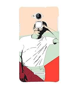PrintVisa Man Blinded Lights 3D Hard Polycarbonate Designer Back Case Cover for Coolpad Note 3