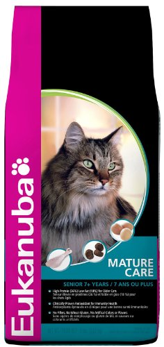 See Eukanuba Mature Care Dry Cat Food 8lb