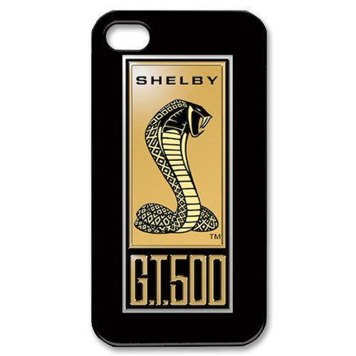ford-mustang-gt-500-logo-iphone-4-4s-hard-plastic-case-cover-black