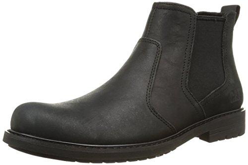 Cat FootwearNOLAN - Stivaletti a gamba corta mod. Chelsea, imbottitura leggera uomo , Nero (Nero (nero)), 40