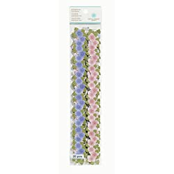 Martha Stewart Crafts Die-Cut Adhesive Borders, Flowers