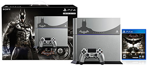 PlayStation 4 500GB Console – Batman Arkham Knight Bundle Limited Edition