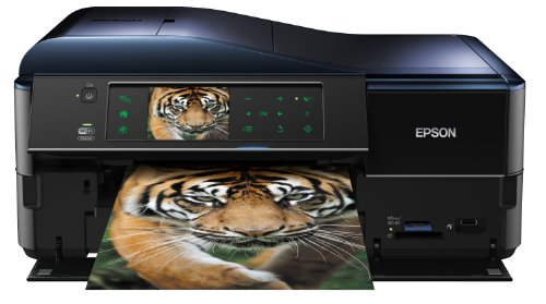 Epson Stylus PX830FWD All-In-One Printer with High Speed Wifi and Double Side Printing and Fax (Print, Copy, Scan and Screen)