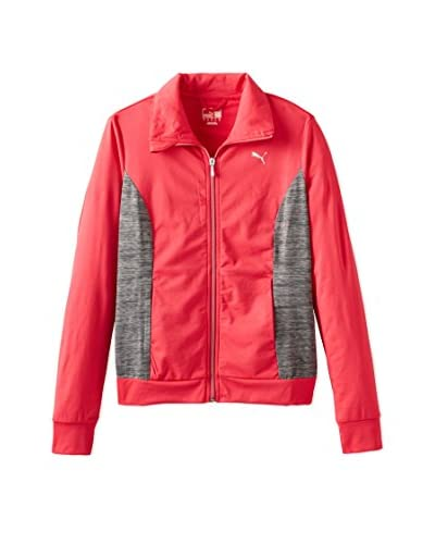 PUMA Women's Colorblock Knit Jacket
