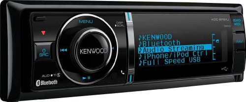Kenwood KDC-BT61U Bluetooth  MP3/WMA/AAC/CD-Receiver with Rear AUX/USB Music Inputs and iPod/iPhone Control