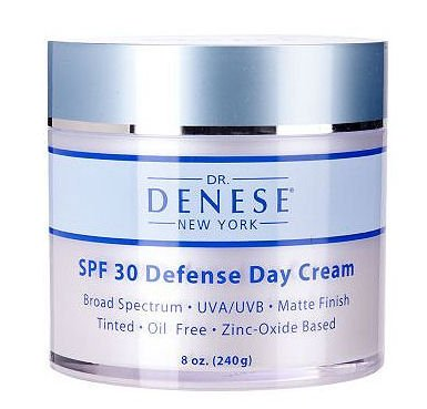 Dr. Denese Spf 30 Defense Day Cream, Luxury Size! 8 oz (240 g)