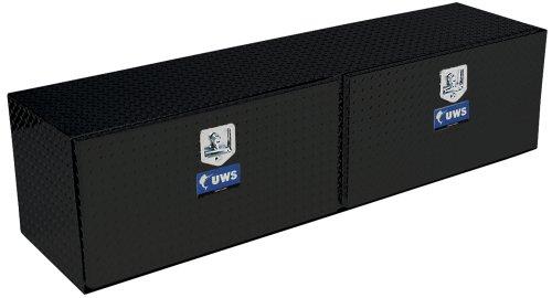 UWS TBTS-60-BLK Topsider Black Aluminum One Door Toolbox (2 Door Truck Toolbox compare prices)