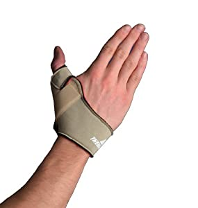 Amazon Com Thermoskin Flexible Thumb Right Splint Beige