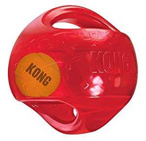 KONG Jumbler Ball Round Medium Large Dog Toy
