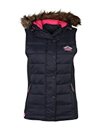 Superdry Women's Quilted Gilet (G50LN016F2_Midnight Navy_XS)