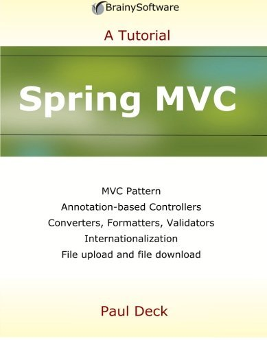 Book Cover Tutorial Java : Spring mvc a tutorial series