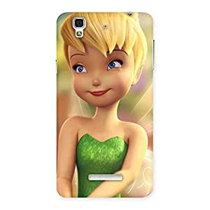 Cute Tin Cure Girl Back Case Cover for YU Yureka Plus