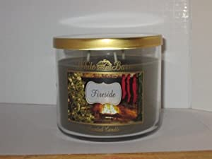 Bath and Body Works Fireside Scented Candle for 2013/14 - Large 3 Wick 14.5 Oz