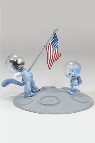 Picture of McFarlane Simpsons Movie: Presidential Politics Itchy and Scratchy Figure (B000SR0BQ8) (McFarlane Action Figures)