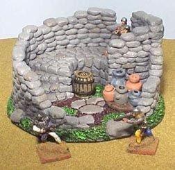 Keep Ruins 28mm Miniature Terrain