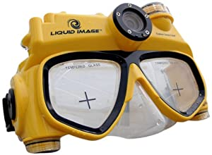 Liquid Image 3.1mp Explorer Series Camera Mask Yellowith Black Mid Size