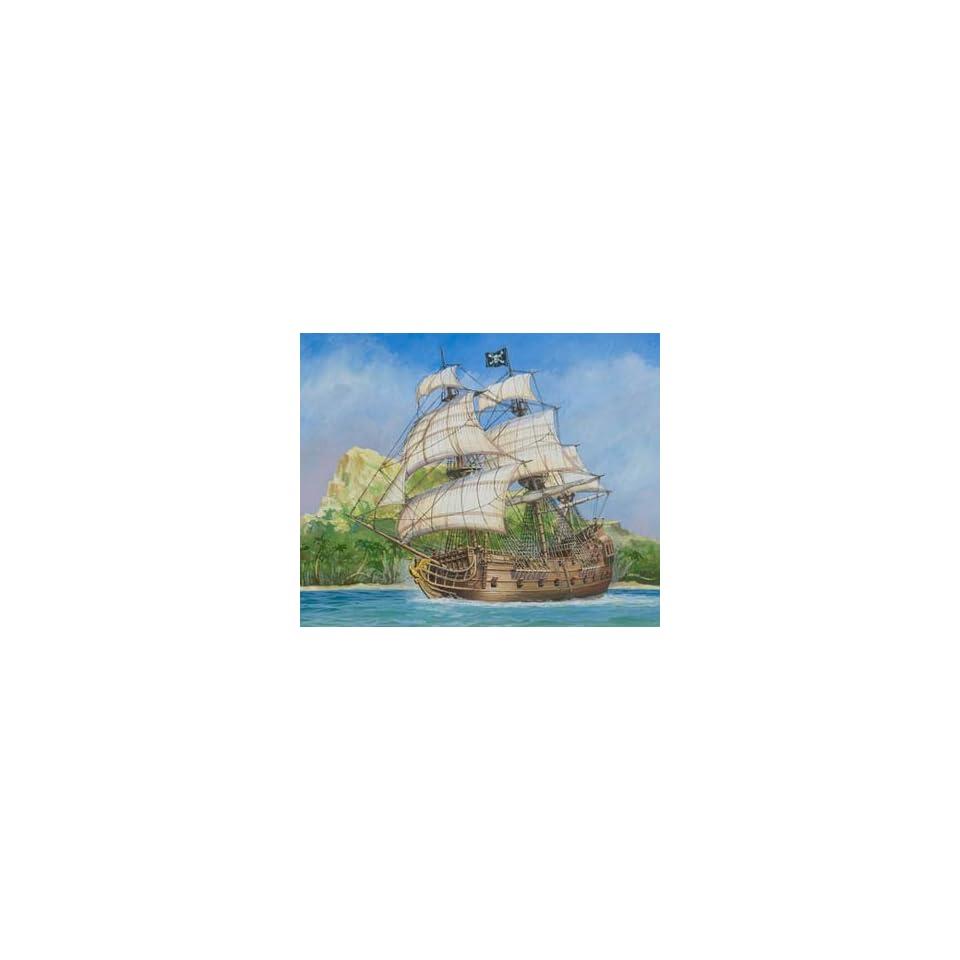 """Pirate Ship /""""Black Swan/""""  Zvezda Kit 1:72 Z9031"""