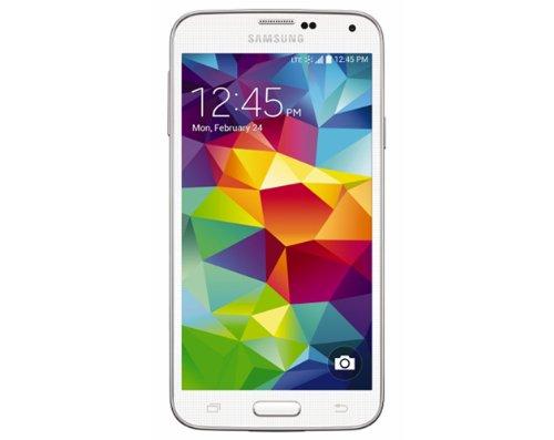 Samsung Galaxy S5, White 16Gb - Prepaid Phone (Virgin Mobile)