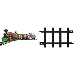 Lionel Mickey Mouse Disney Ready to Play Train Set and 12-Piece Straight Track Pack