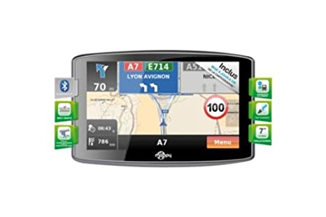Navigation GPS MAPPY MAXIS709 NOIR EUROPE 22 PAYS CARTE A VIE