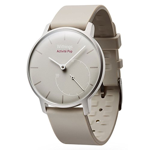 Withings HWA01SAND Activite Pop Smart Watch Activity and Sleep Tracker (Sand)