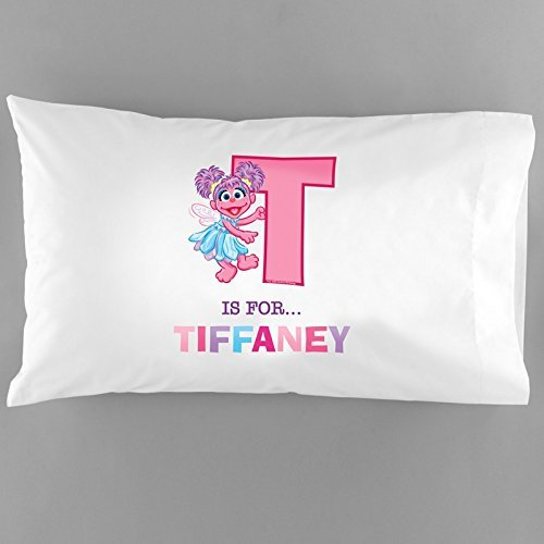 Personalized Abby Cadabby Initial Pillowcase front-316456