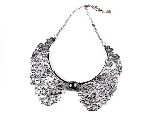 Women's Chunky Bib Chain Collar Choker Necklace