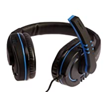 buy Latest Fashion,Lps-2002 High Quality Stereo Computer Gaming Headphones,Computer Headphones,Blue