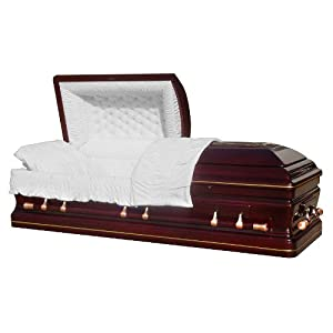 Casket 8866 - Solid Cherry Casket Best Price Caskets