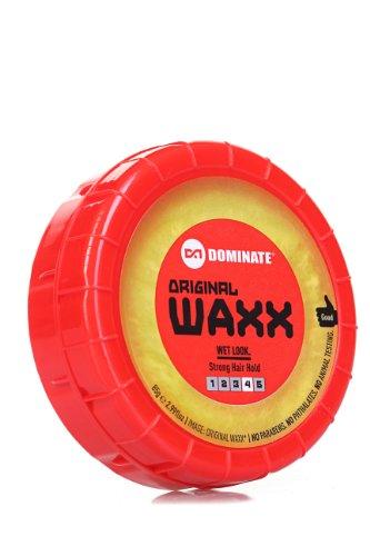 Dominate Original Waxx Cera per Capelli - Tenuta 4 Forte - Effetto Bagnato - 85g