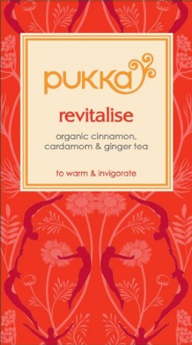 Pukka Herbs Organic Revitalise Kapha Tea - Pack of 20 Sachets