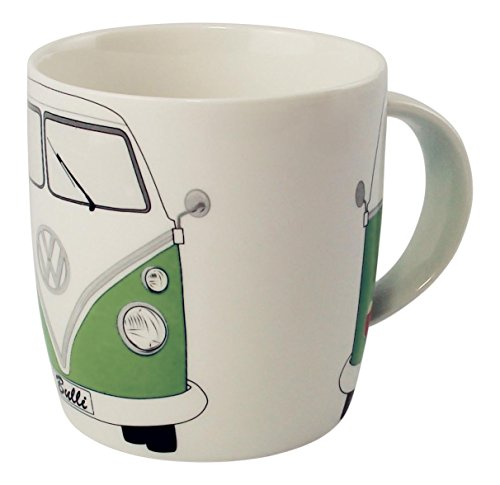 VW Collection by BRISA Tazza, motivo: VW Transporter, verde