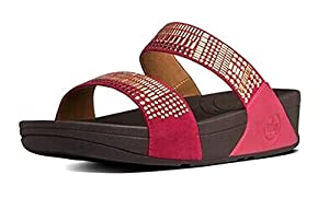 FitFlop's Women's Aztek Chada Slide Flip Flop,Rio Pink,39-40 M EUR/9 B(M) US