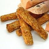 ポキポキッと食べられるスティック状おかき『餅の木梅ざらめ味』